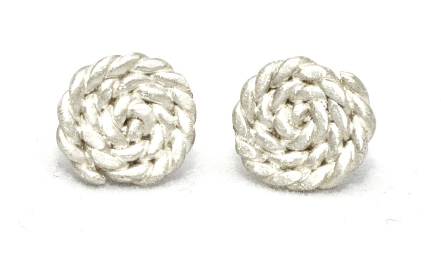 Sterling Silver Rope Twist Earrings Kalaki Riot Intermix Shopbop Editorial Blogger