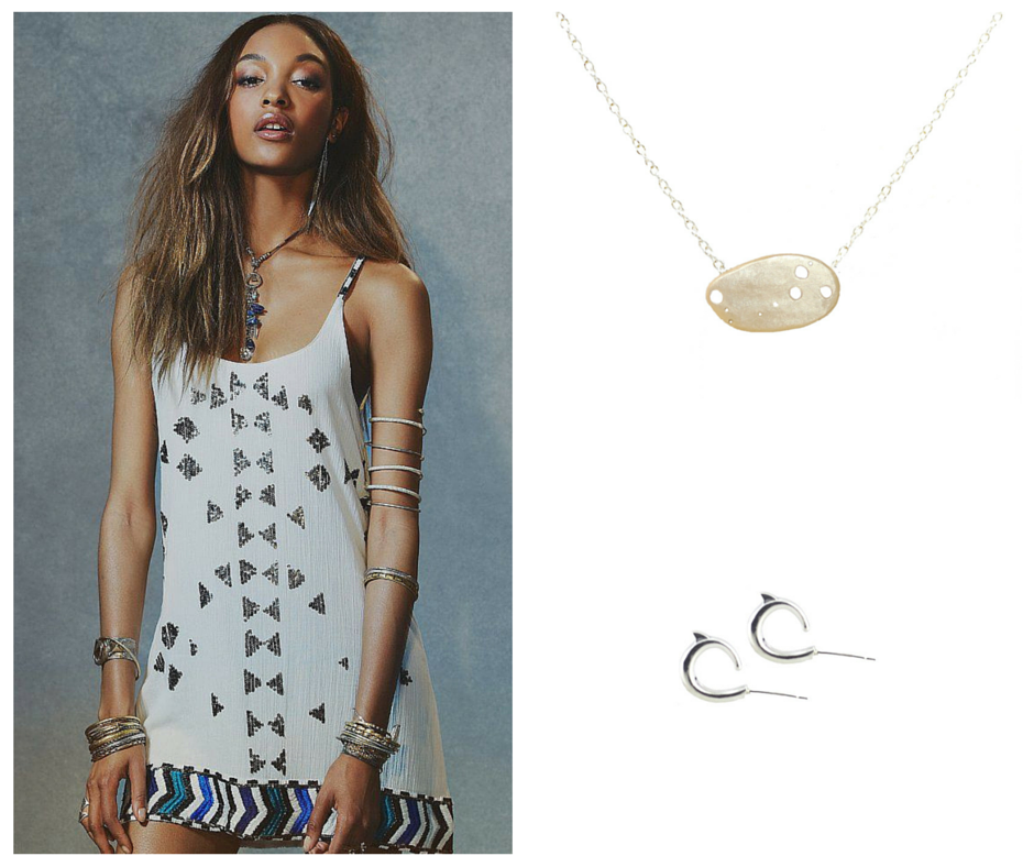 New Years In LA In White, Gold, Silver and Pop Of Color   Kalaki Riot
