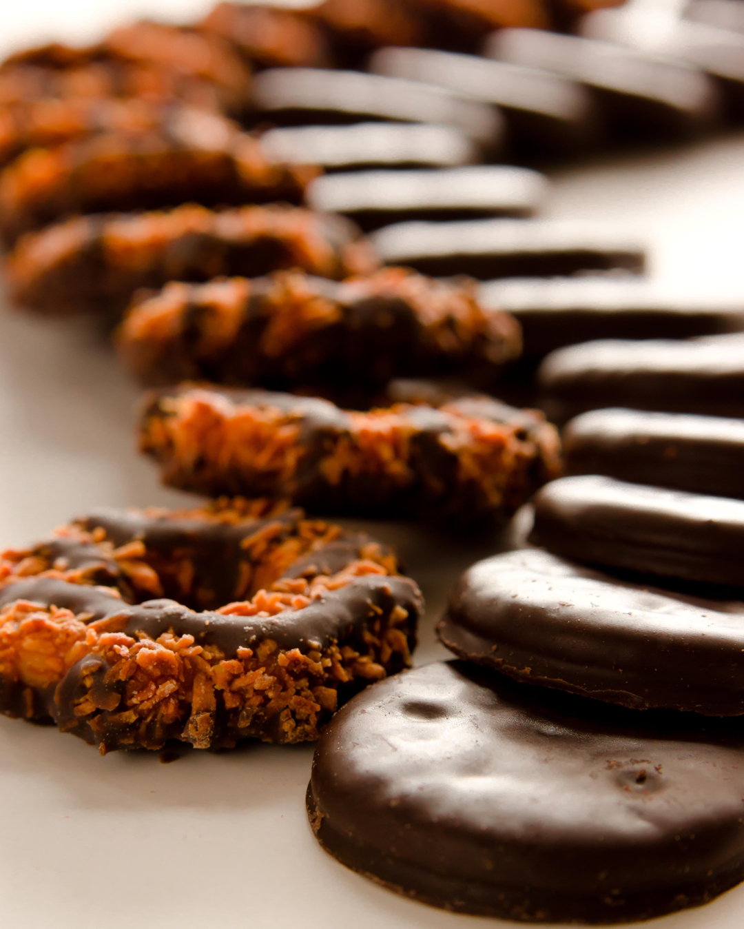 Thin Mints and Samoas from Flickr