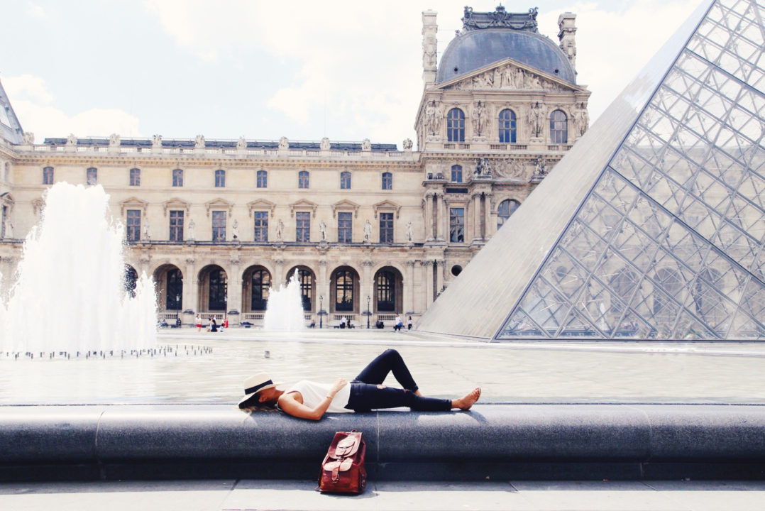 Kalaki Riot Founder Tracy Dungo in Paris at the Louvre | Travel Photography and city tours new york city on the KR Edit